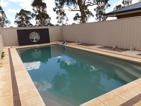 Executive 4 bedroom home with pool
