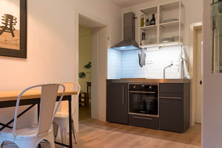 Urban Minimalist Apartment in Harsefeld