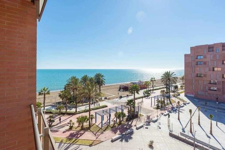 Sea view beach suite