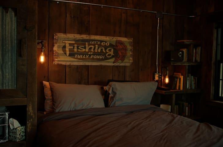 Fishing Cottage Bedroom