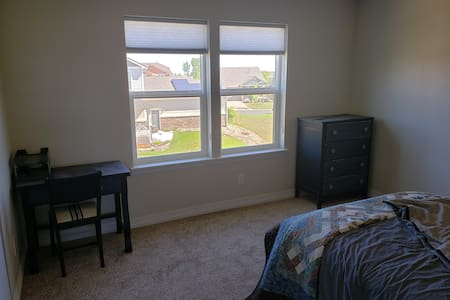 Newer home! Very clean! Private Room and Restroom.