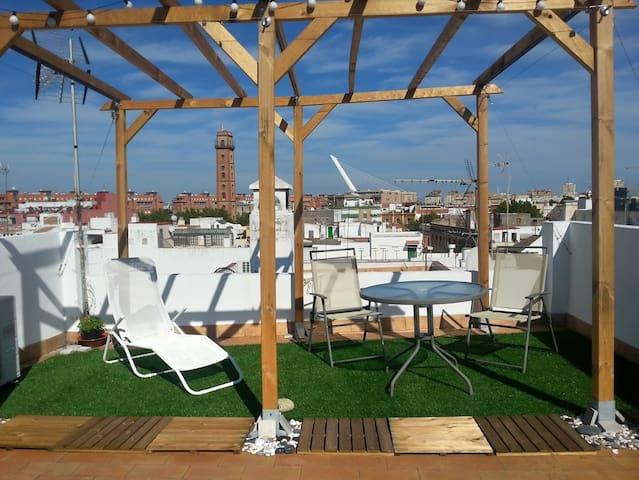 PrivateRoom AtticLoft centerSevilla - Sevilla - Loft