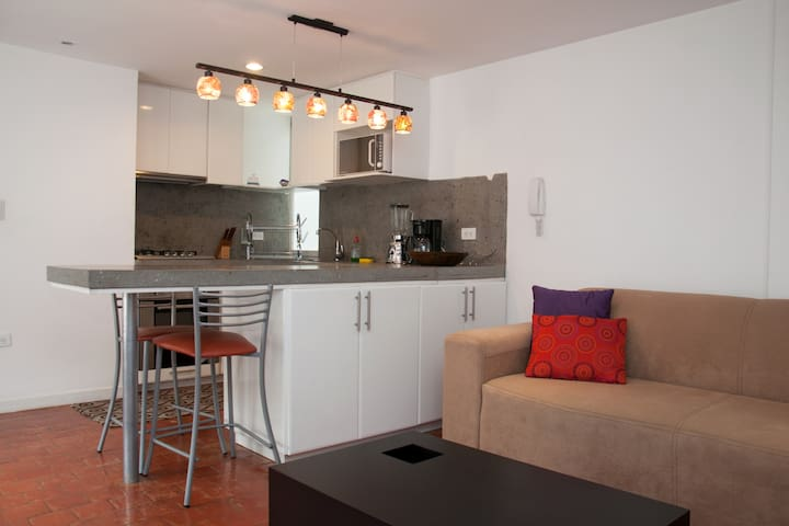 Modern Condo in heart of the city - Cuenca - Apartment