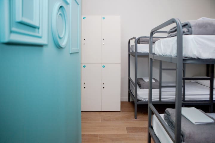 A Bed in a 6-Bed Mixed Dormitory