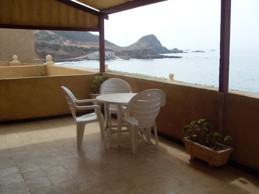 2 Terraces overlooking the Mediterranean Sea