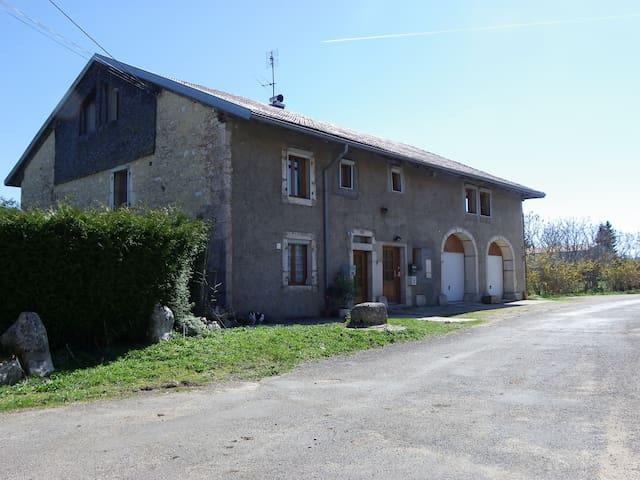 sejour detente dans le haut jura - Saint-Laurent-en-Grandvaux - Apartment