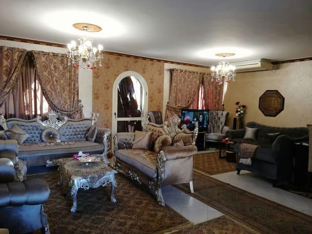 Luxury villa in new sherouk near Madinaty