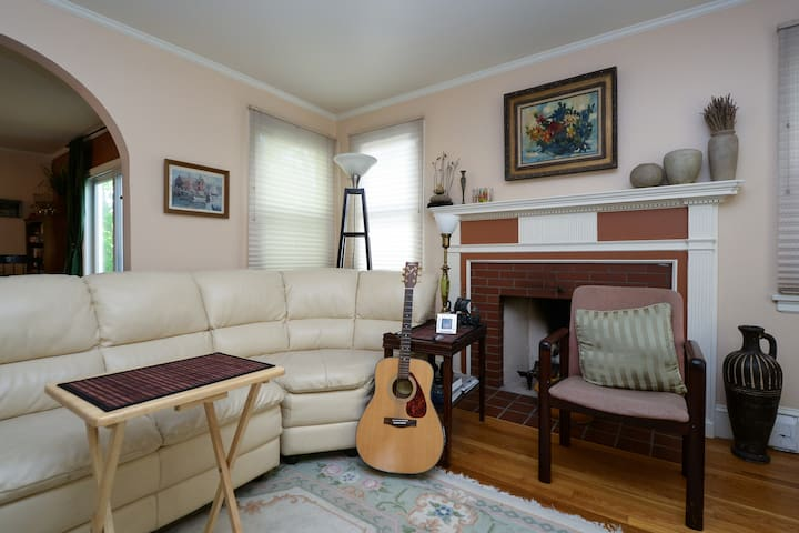 Providence Area, Large Bedroom - Pawtucket - Casa