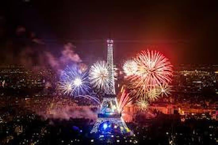 La Tour Eiffel à 18 minutes en train