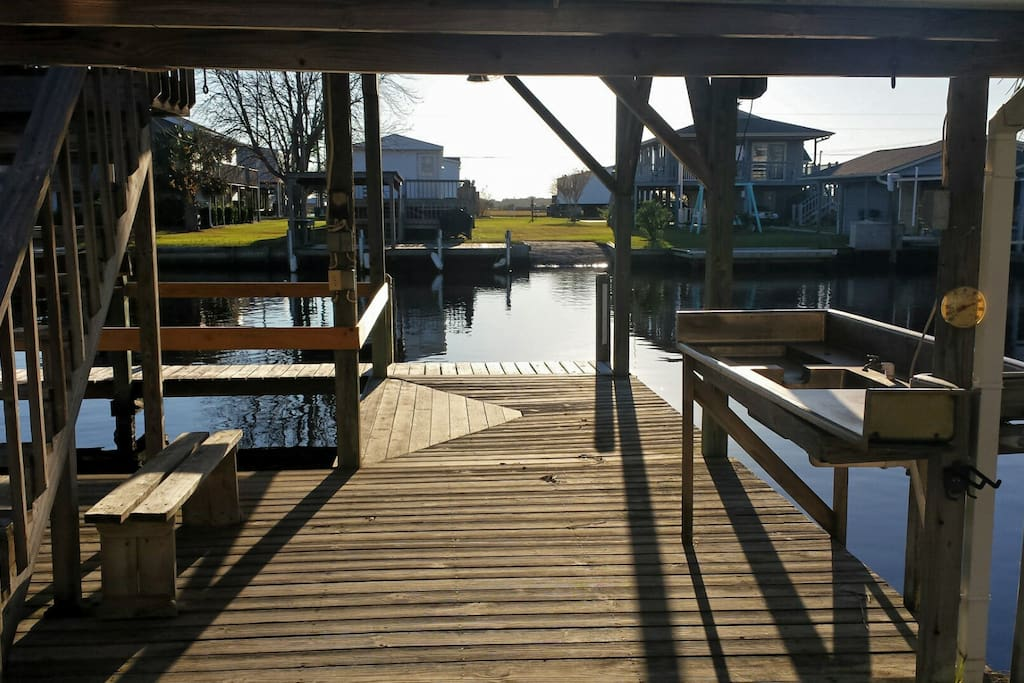 Canal Front Beach Home W Boat Ramp And Lift Houses For