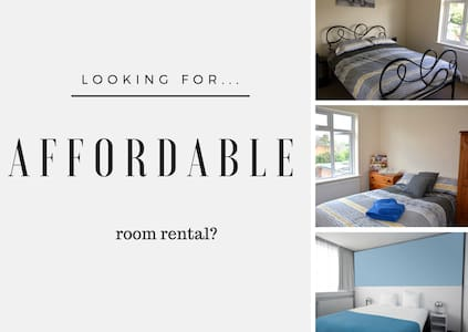 Comfy accommodation-Large serviced room - Holbury - House