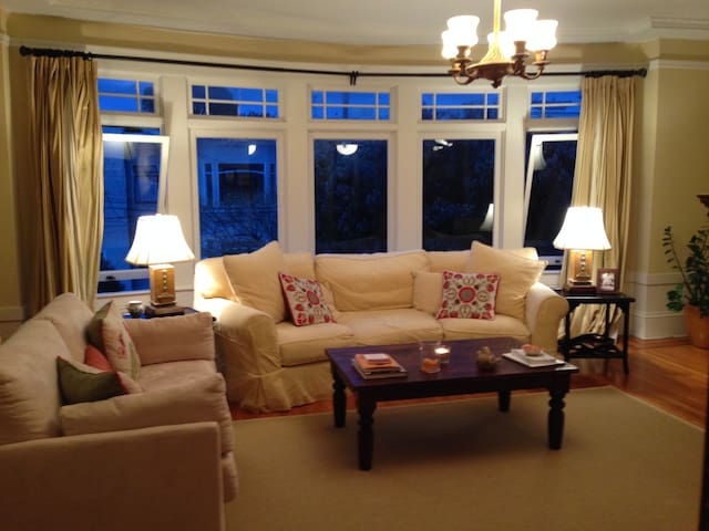 Spacious, well-lit, upper unit flat - San Francisco - Daire