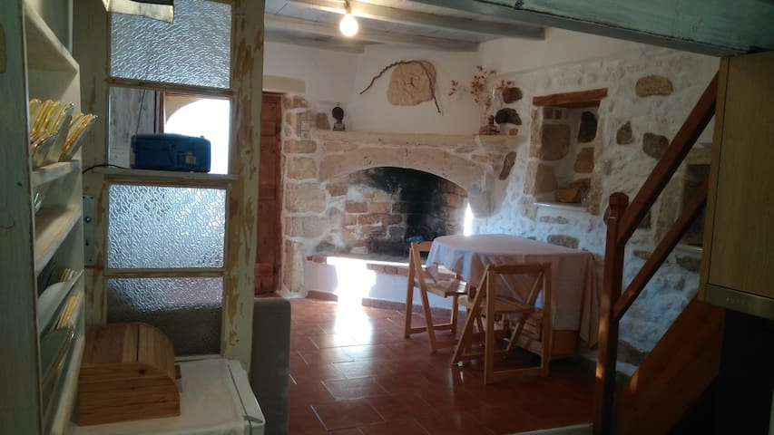 Stone duplex small house - Stavlaki