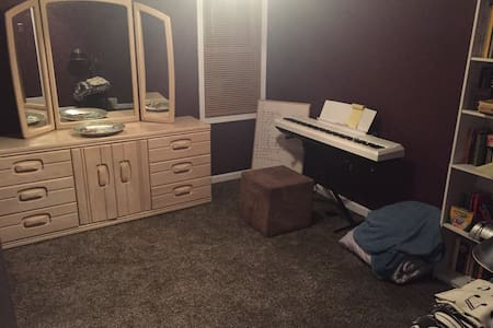 Super comfortable private bedroom! - Roseville - Hus