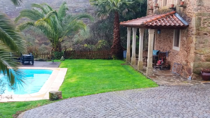 House with 2 bedrooms in Caminha, with shared pool, enclosed garden and WiFi - 18 km from the beach