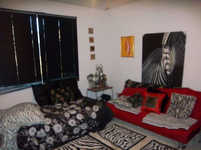 Queen room with futon - Antioch - Casa