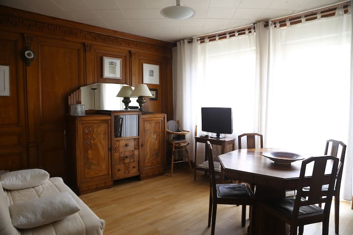 Old apartment downtown - Pontarlier - Wohnung