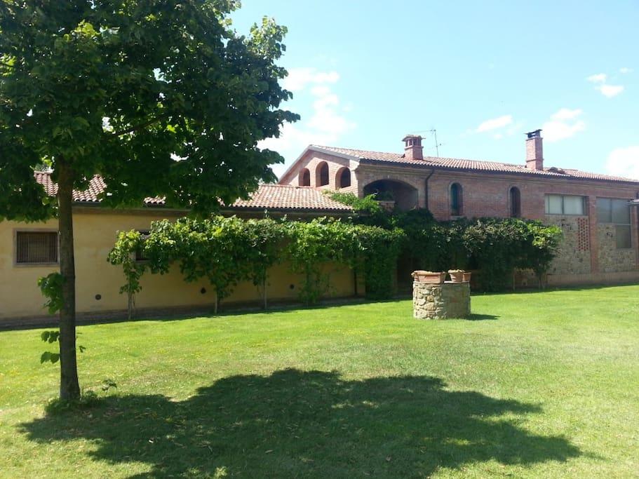 Casa in campagna con piscina case in affitto a terranuova bracciolini toscana italia - Piscina terranuova bracciolini ...