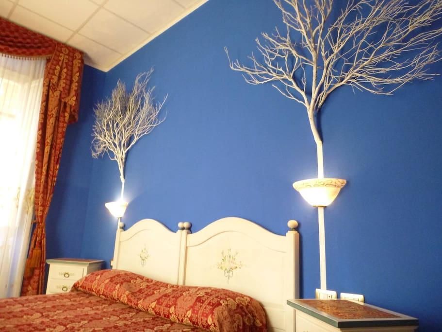 Blue Winter room