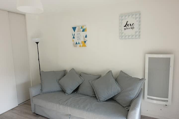 Studio équipé  proche de Dijon