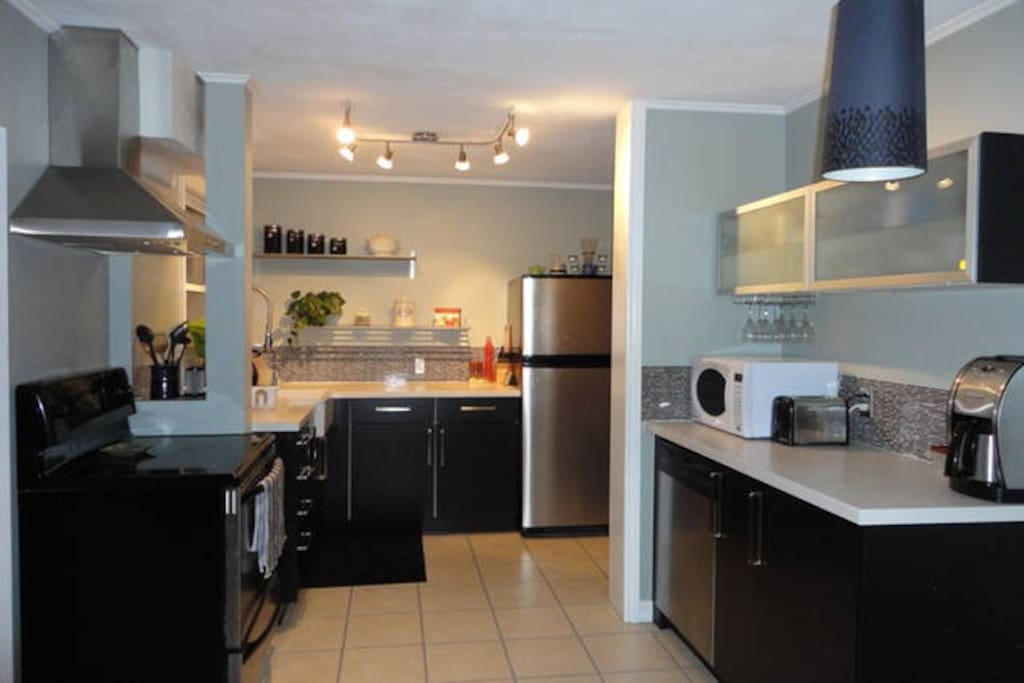Shared kitchen, fully equipped