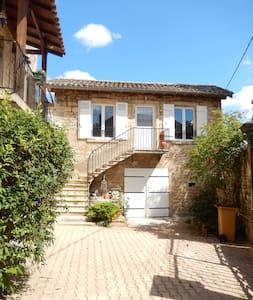 Gîte 4 personnes pierres & vignes - Lucenay - Casa