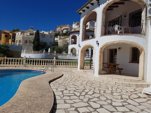 Detached 3 bed villa, large pool, Sanet y Negrals - Montesano - Casa de campo
