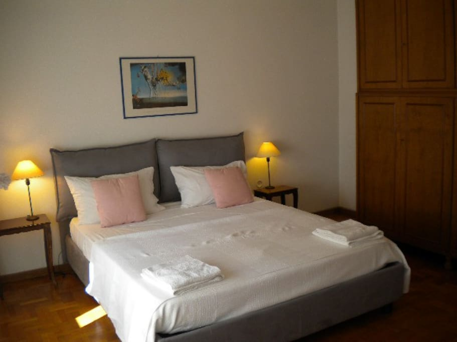 The double bed room