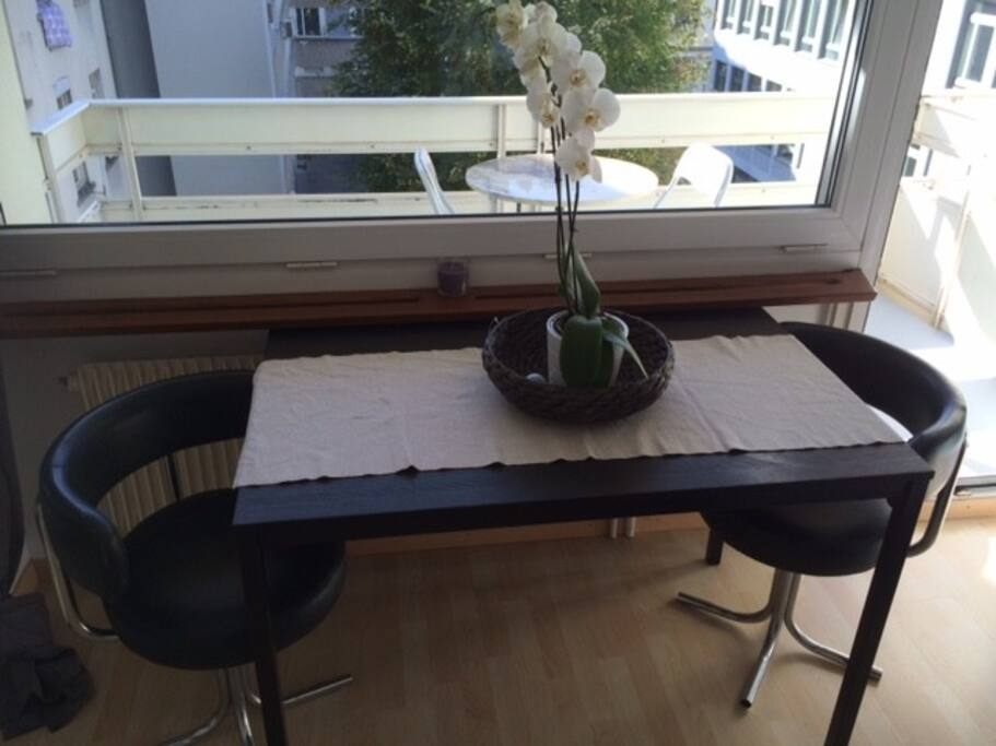 Lovely new studio with balcony at the best area - Asciugatrice in balcone ...
