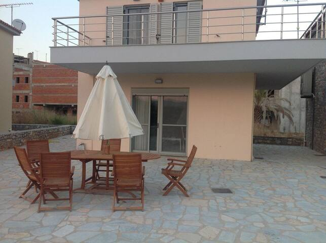Private Beach-Front Villa in Southern Greece