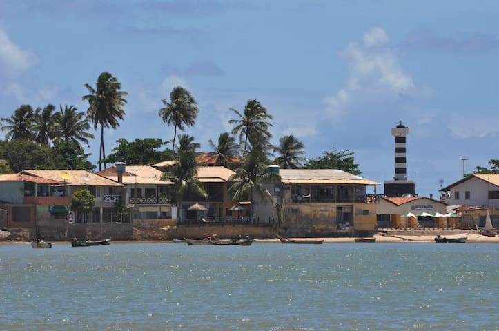 Casa Praia da Enseada Farol 5 qrts/Ar, Coruripe-AL - Coruripe - Rumah