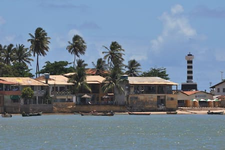 Casa Praia da Enseada Farol 5 qrts/Ar, Coruripe-AL - Coruripe