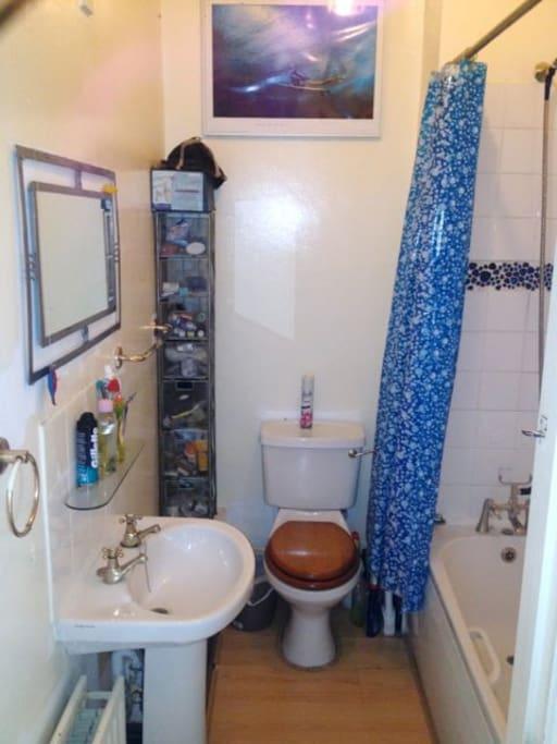 Bathroom, shower & bath
