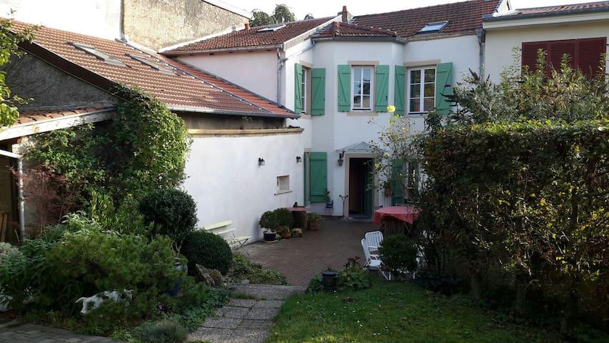Jolie Chambre individuelle au calme - Sainte-Ruffine - Huis