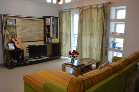 Private room in GUangzhou,1guest 1bed, SUBWAY/BRT - Guangzhou - Apartament
