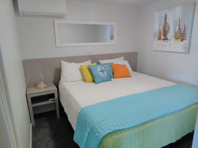 2nd bedroom set up as super king bed