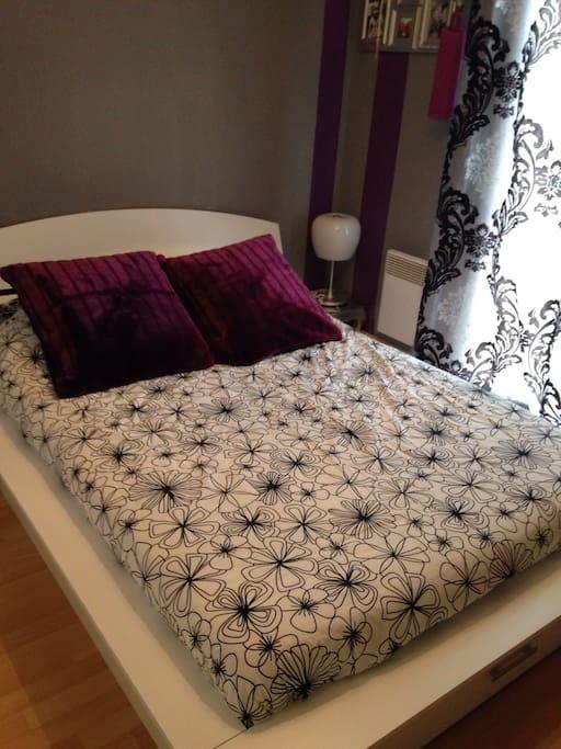 Une chambre tout confort