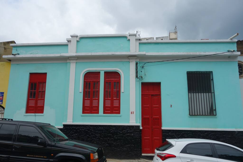 Old colonial house in barra