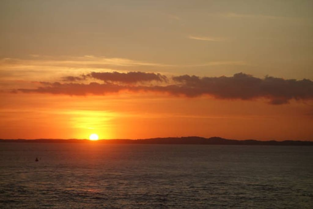 Sunset in porto da barra