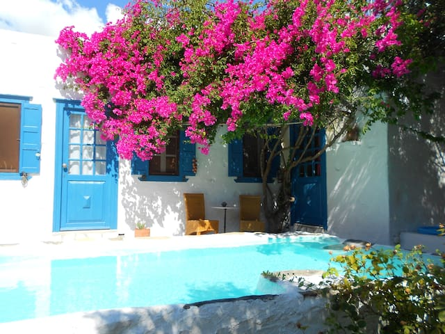 Syros Island-Beautiful country home - Syros - Casa