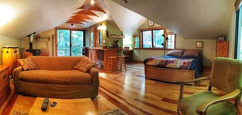 Studio on the Cedar River ~ A Bibliophiles Dream
