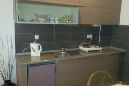 Great apartment 50m from the beach! - Chaniotis