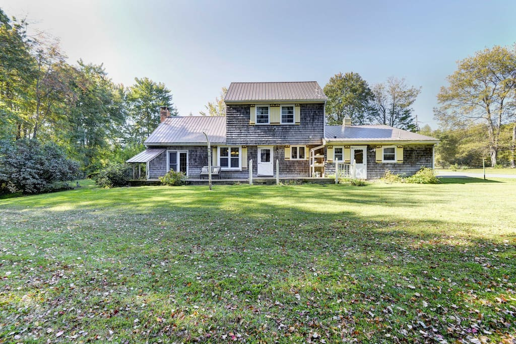 Enjoy a private country getaway in northeast Pennsylvania at this Starrucca vacation rental house.