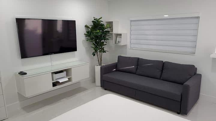 Modern Studio at center of Miami