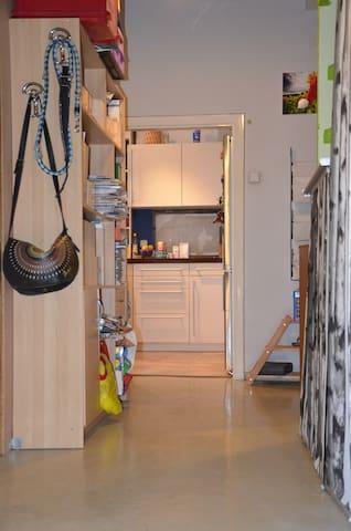 Vorzimmer in Richtung Küche