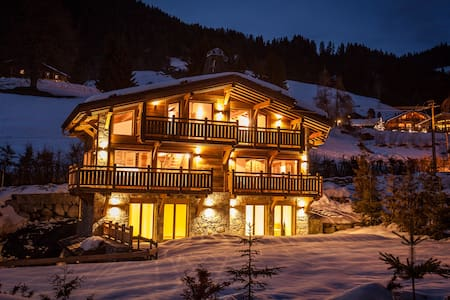 New Chalet in Megève (2014) - up to 10 people - Megève - Chalet
