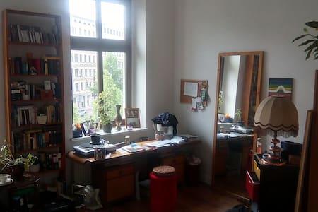 helles Altbau-WG-Zimmer im Herzen der Stadt - Magdeburg - Selveierleilighet