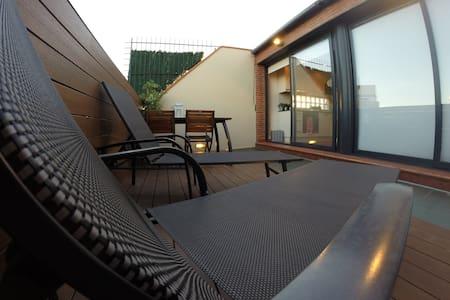 PENTHOUSE GORGEOUS DESIGN FLAT  - Barcelona - Apartamento