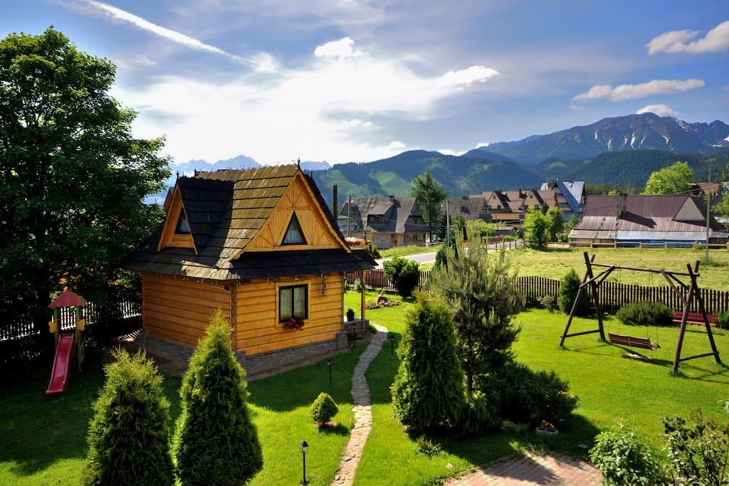 Domek z panorama Tatr & jacuzzi & relax