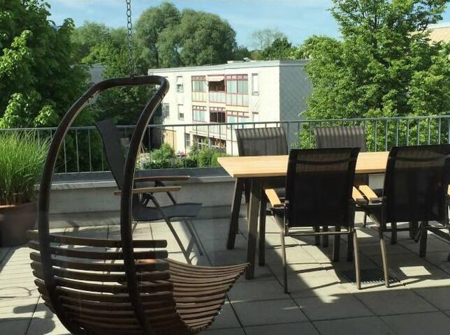 Gemütliche Maisonette Wohnung, Dornbirn m. Rooftop